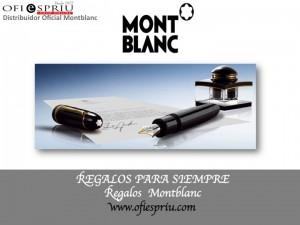 Regalos de Montblanc