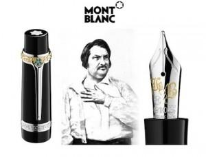 Honoré de Balzac pluma estilográfica Montblanc