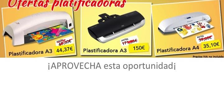 Plastificadora en oferta