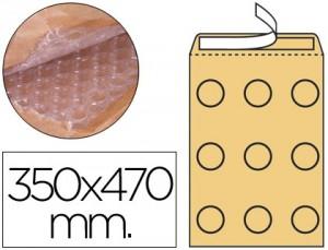 Papel de burbuja de 350x470