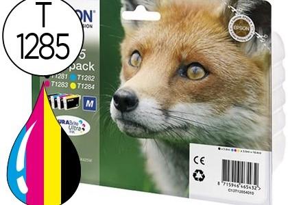 Cartucho para Epson T1285 Pack de 4 colores