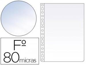 funda multi-taladro folio cristal 100 folios