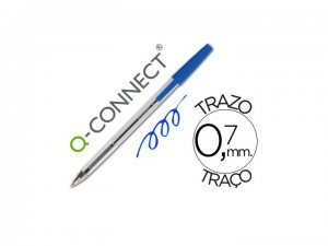 Bolígrafo transparente barato