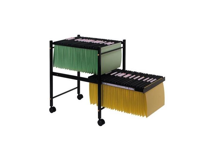 Carrito carpetas colgantes carrito doble carpetas for Material de oficina online