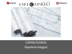 Hacer copias planos