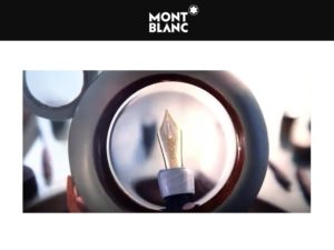 Pluma Montblanc Meisterstück