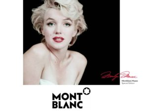 Marylin Monroe Montblanc